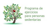 Programa de ejercicios para personas sedentarias